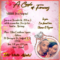 revised engagement invitation
