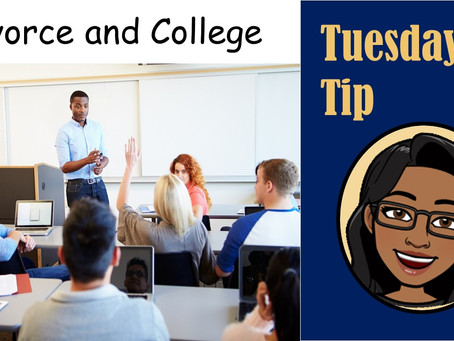 Tuesday Tip: Divorce & College
