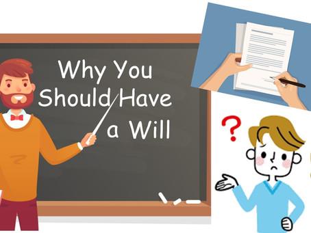 I Really Don't Need a Will