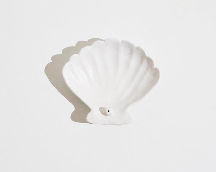 seashell incense holder