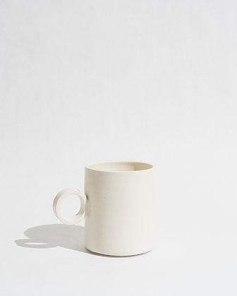 white totem mug