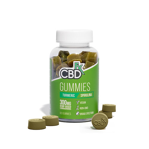 Tumeric/Spirulina Gummies