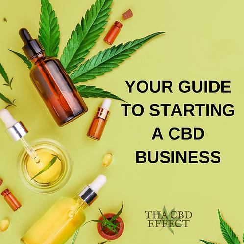 How to Start A CBD Business eBook