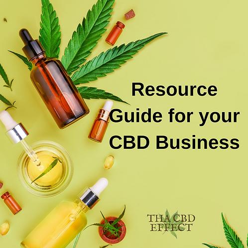 CBD Resource Guide
