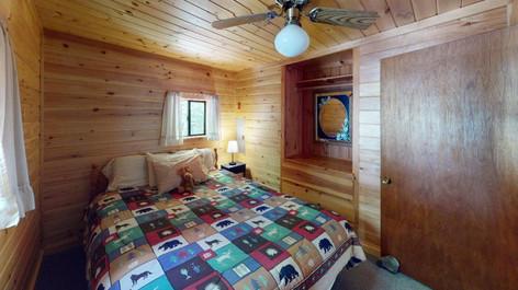 Lakefront Queen Bedroom