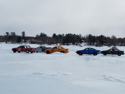 Ice Racing at West Cove