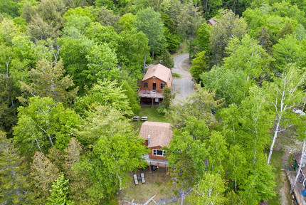 Cabins from above