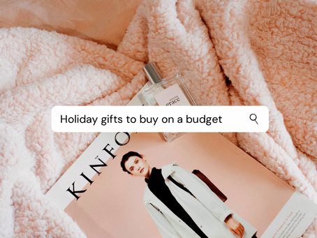 Best Holiday Gifts to Buy on a Budget