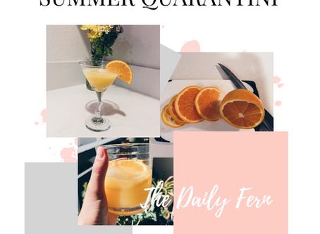 The Best Summertime Quarantini