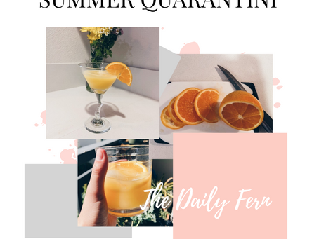 The Best Summertime Quarantini