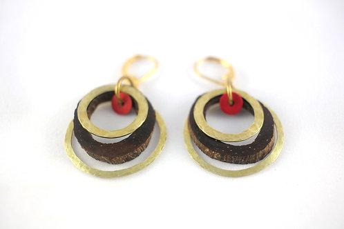 Small bangles earrings