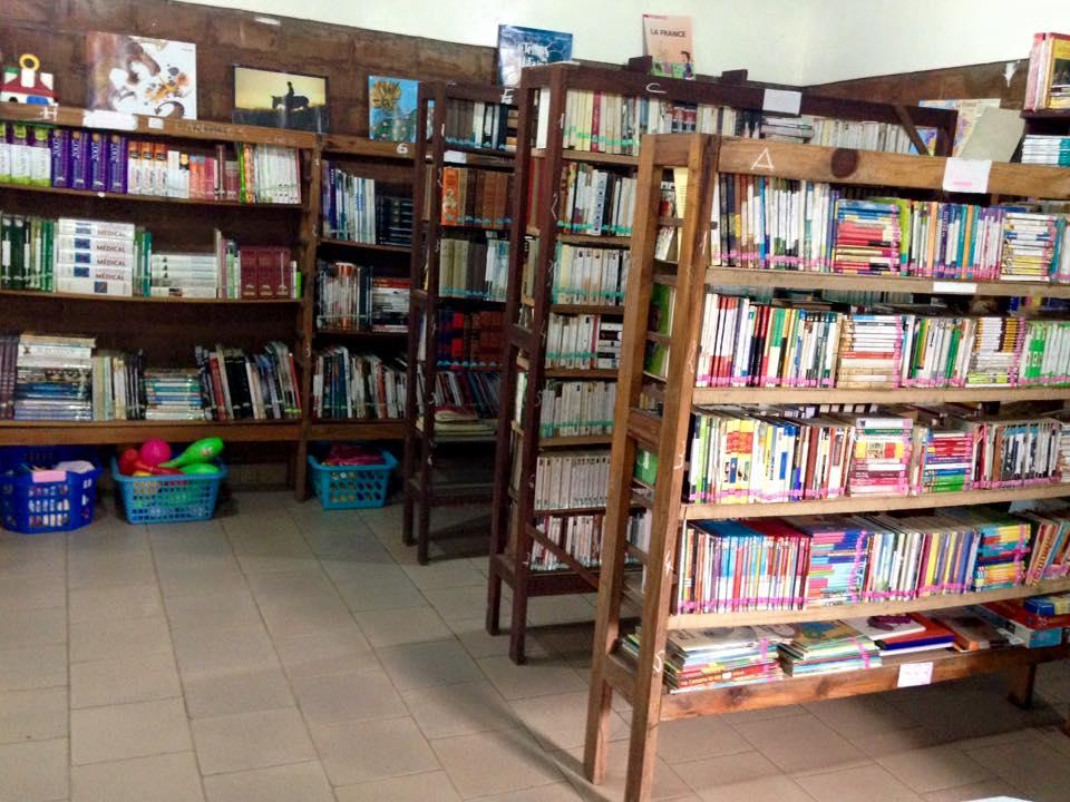 La bibliothèque du CEP