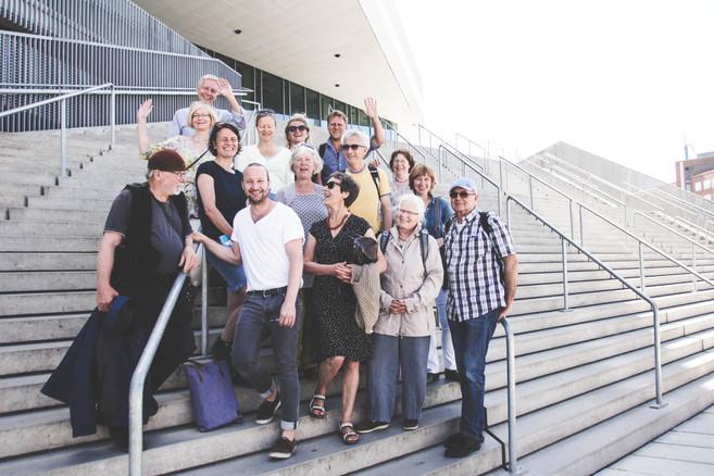 Exkursion in Aarhus