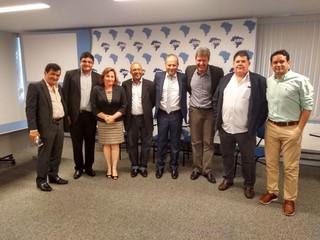 Diretoria da ANAMMA se reúne em Brasília