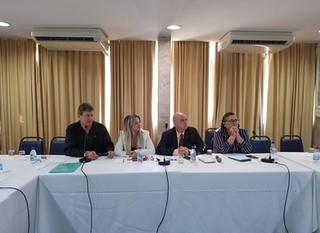 3ª reunião da CNT - Comissão Tripartite Nacional