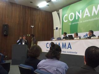Nova diretoria Anamma apresentada ao Conama