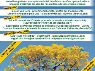 Curso de Criação e Gestão de Unidades de Conservação Municipais no Bioma Cerrado