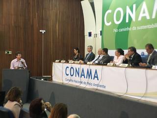Presidente da ANAMMA faz pronunciamento no CONAMA
