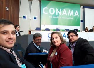 Anamma Brasilcom intensa participação no Conama