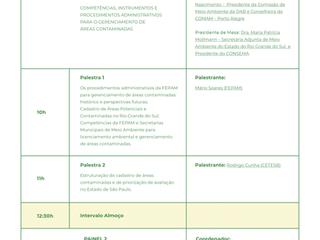 Workshop de Estruturação da Política de Gerenciamento de Áreas Contaminadas no Estado do Rio Grande