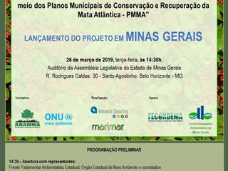 """Lançamentos do projeto: """"Fortalecendo os Conselhos Municipais de Meio Ambiente por meio dos Pla"""