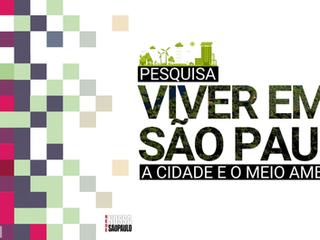"""Análise da pesquisa """"A cidade e o meio ambiente"""""""