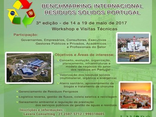 Benchmarking Internacional Resíduos Sólidos Portugal