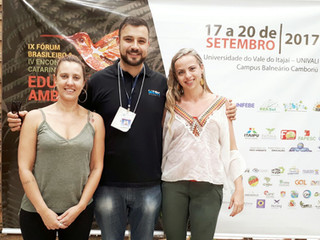 ANAMMA participa do IX Fórum Brasileiro de Educação Ambiental