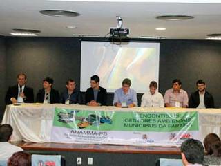 Secretários, prefeitos e gestores ambientais participam do Encontro da Anamma