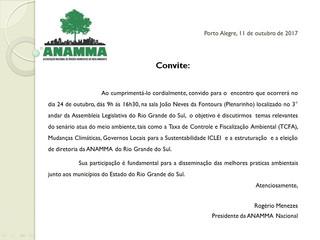 Convite - ANAMMA - RS