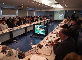 Anamma em reunião do Consema - Conselho Estadual de Meio Ambiente