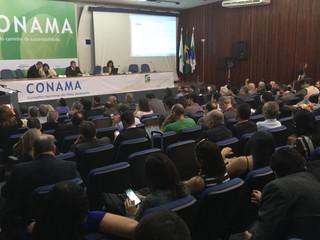 No Conama, Ministro cumprimenta Anamma pelo sucesso do Fórum Brasil de Gestão Ambiental em Campinas