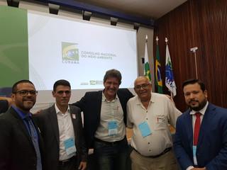 No Conama Rogério Menezes divulga Fórum Brasil