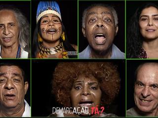 """Confira a música """"Demarcação Já!"""", uma homenagem de mais de 25 artistas aos povos indígena"""