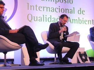 Presidente da ANAMMA participa  de Simpósio Internacional de Qualidade Ambiental em Porto Alegre
