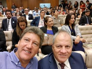 Rogério Menezes faz pronunciamento em reunião fechada do Conama