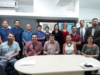 Municípios catarinenses discutem agenda ambiental local com o novo Presidente do IMA