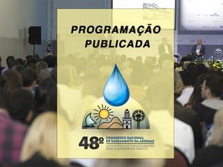 Assemae divulga programação do 48º Congresso de Saneamento