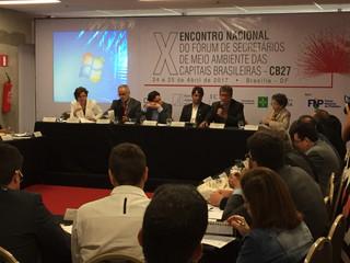 Presidente da ANAMMA participa da Reunião do CB27 no IV EMDS.