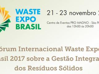 Falta 1 mês para a única feira do país focada exclusivamente na gestão de resíduos sólidos, reciclag