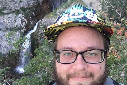 Owner of Apex Soapery LLC hiking in Utah