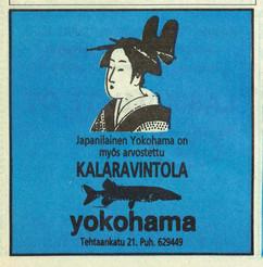 Kalaravintola Yokohama 1980, Meri-Helsinki
