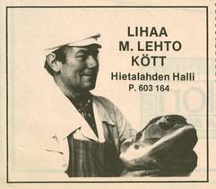 Lihaa Kött M. Lehto, Kamppi-Eira 1986