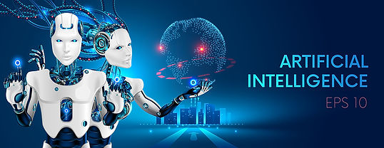 bigstock-Robots-Man-And-Woman-With-Arti-