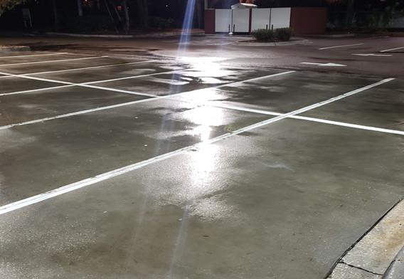 McDonald's Parking Lot After