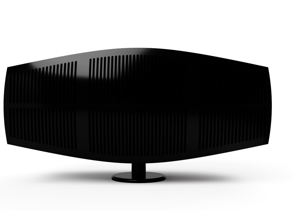 Front View of Grill with shadow cast.
