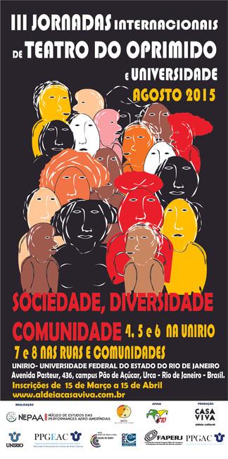 III JORNADAS INTERNACIONAIS TEATRO DO OPRIMIDO E UNIVERSIDADE