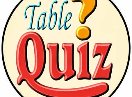 Family Table Quiz