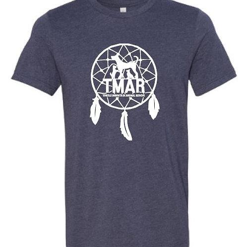 Dream Catcher TMAR Logo T-Shirt - Heather Navy