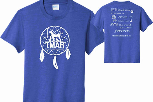 Youth Dream Catcher TMAR Logo T-Shirt - Royal Blue